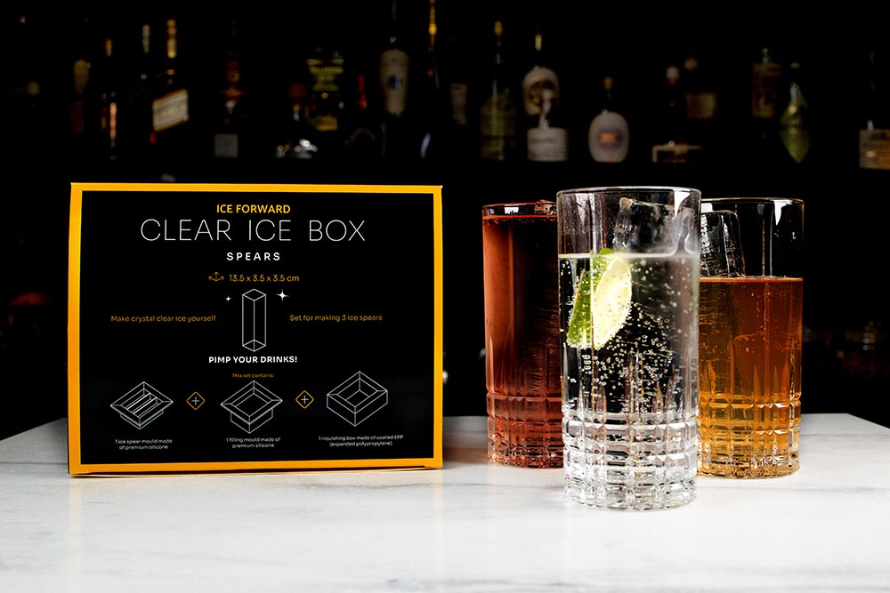 Clear Ice Box Spears